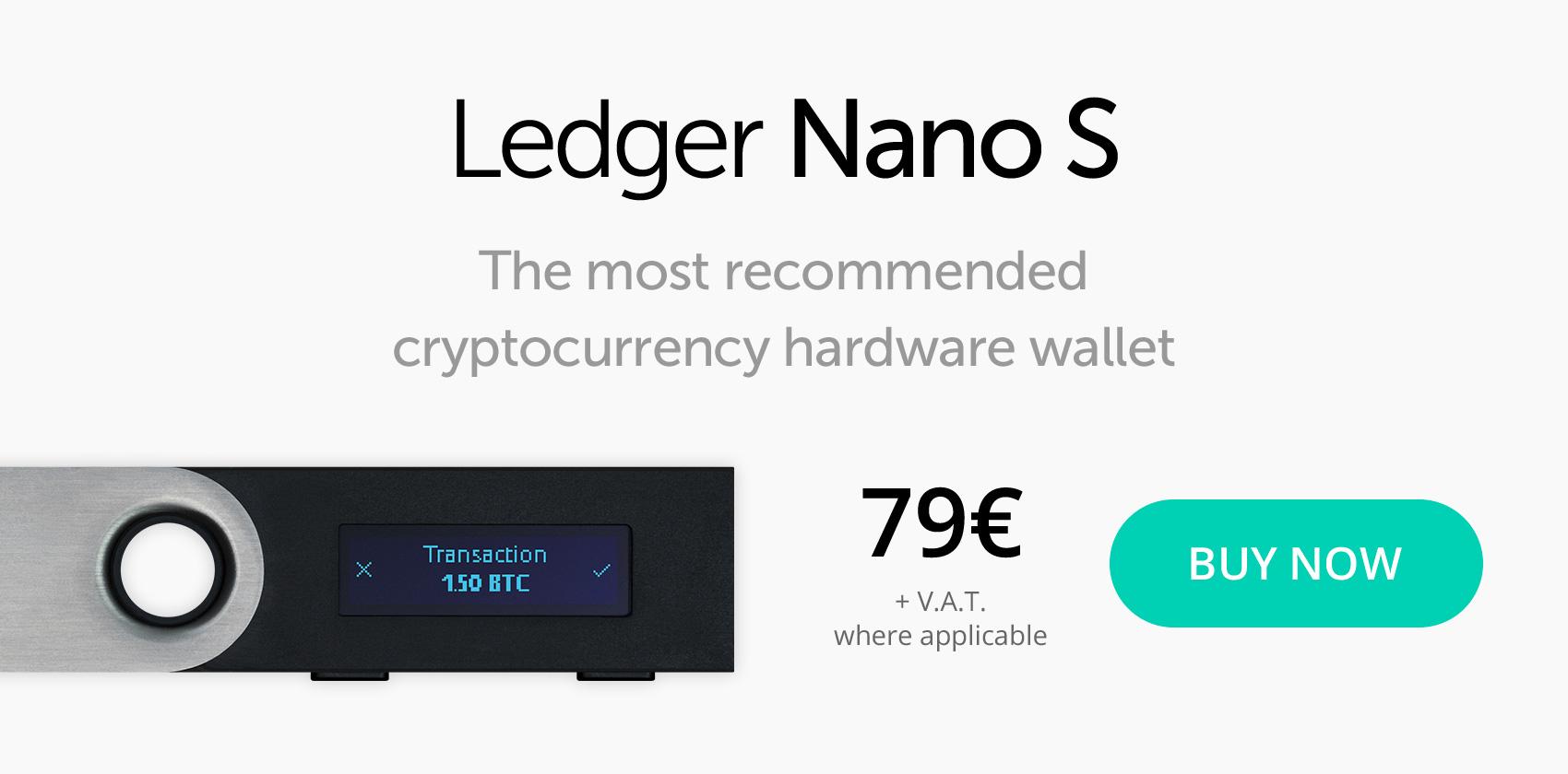achat ledger nano s